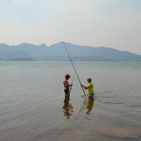 Сейчас начнётся рыбалка... :: Андрей Хлопонин