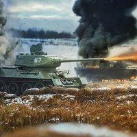 Т-34 85. :: Виктор Седов
