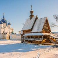 Суздальский Кремль. Никольская деревянная церковь. :: Валерий Иванович