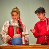 """Театрализованное представление,""""Белый Цветок"""" :: Сергей Величко"""