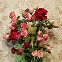 Первая работа флористом :: Сергей Розанов