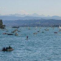 Цюрихское озеро :: Дмитрий .