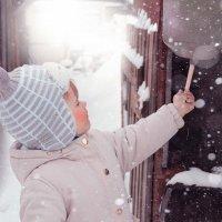 наконец то снег :: Марина Сога