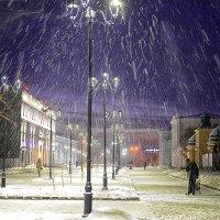 Огни вечернего города :: Дмитрий Иванцов
