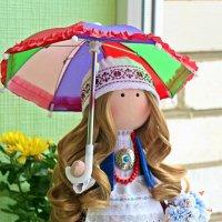 Кукла в национальном костюме :: Marina Pavlova