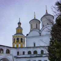 В монастырском дворике :: Нина Кутина