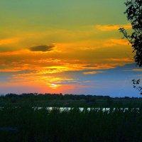 Такой вот потрясающий закат. :: Восковых Анна Васильевна