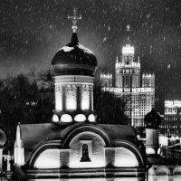 Снег в Москве :: Константин Поляков