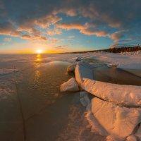 Лёд на Финском заливе :: Фёдор. Лашков