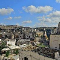 Матера. Уникальный город на  юге Италии, вырубленный в скале датируется 3 веком до н.э. :: Olcen Len