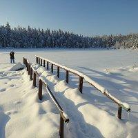 Зимой на озере. :: Валентина Жукова