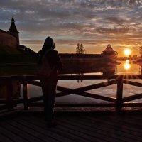Поймать уходящее солнце :: Валентина Харламова