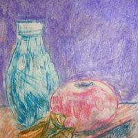 "Моя работа ""Натюрморт с двумя вазами"". :: Светлана Калмыкова"