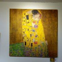 """Репродукция картины """"Поцелуй"""" Густава Климта. :: Светлана Калмыкова"""