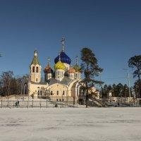 Соборный храм благоверного князя Игоря Черниговского в Ново-Переделкино :: Yuri Chudnovetz