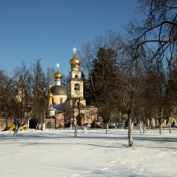 храма Спаса Преображения в Переделкино. :: Yuri Chudnovetz