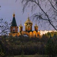 Храм-памятник во имя Новомучеников и исповедников российских в земле Коми просиявших. :: Николай Зиновьев
