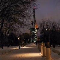 В безлюдном зимнем парке... :: марк