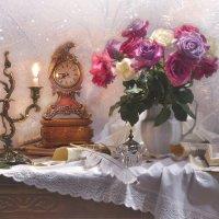 ...я сегодня, пожалуй, останусь в старом доме моем, при свечах... :: Валентина Колова