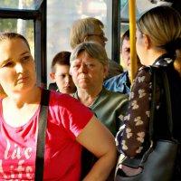 Жизнь в автобусе :: Екатерина Забелина