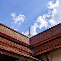 Крыша буддийского храма :: Alex