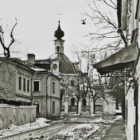 Мал. Ордынский пер.  Церковь Екатерины на Всполье.1984 год :: Евгений Кочуров
