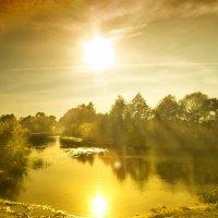 Закат над Усманкой :: Тамрико Дат