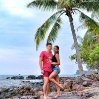 На экзотическом острове :: Dmitry i Mary S