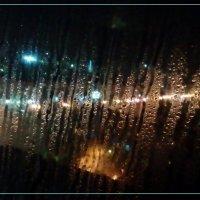 ночь, огни, дорога, дождь :: maxim