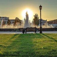 Тобольск.Вечерний фонтан. :: petyxov петухов