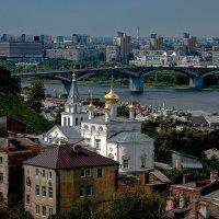 Н.Новгород Вид со стены кремля. :: petyxov петухов