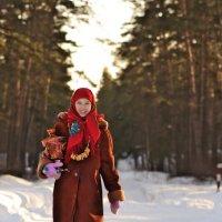 С самоваром в зимний день :: Любовь Гулина