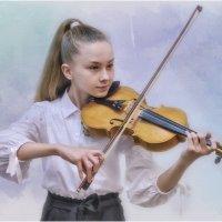 Юная скрипачка Злата Серебрякова :: Александр Максимов