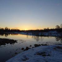 Рассвет на реке Серая :: Денис Бочкарёв