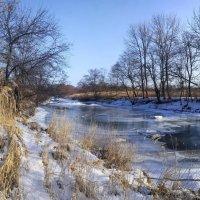Река Стеклянуха :: Эдуард Куклин