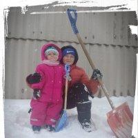 Всех,на уборку снега... :: Георгиевич