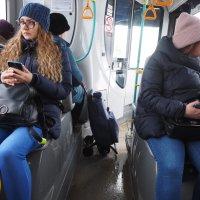 Пассажиры. :: Ильсияр Шакирова