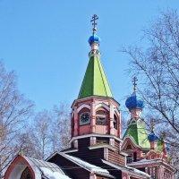 Церковь Троицы  в Люберцах :: Евгений Кочуров