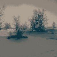 Хмурое утро февраля,двадцатого года... :: Хлопонин Андрей Хлопонин Андрей