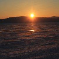 Закат на Байкале. :: Андрей