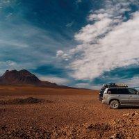 Привал на перевале... Боливия,высота 4700м! :: Александр Вивчарик