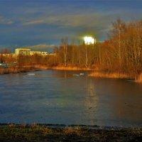 Закат на Среднерогатских прудах... :: Sergey Gordoff