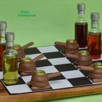Забавные шахматы для мужа на 23 Февраля. :: Лара Гамильтон