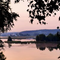 летний вечер на озере Тосканка(Ворсменское) :: Григорий Вагун*