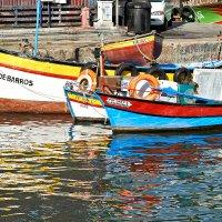 Рыбацкие лодки на Мадейре :: Valeriy(Валерий) Сергиенко