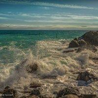И волны – о берег, и пена кипела... :: Александр Пушкарёв