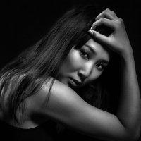 черно белый портрет :: Ричард Мун
