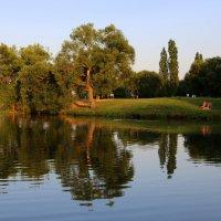 На реке Цна :: Юрий Моченов
