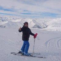 Горные лыжи...Горы Грузии. :: Георгиевич