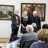 Открытие выставки художника Сичкова В.И. :: Евгений